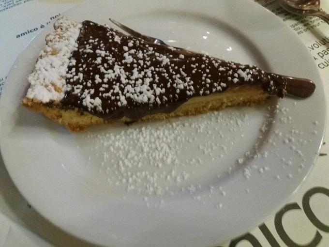 Restaurante vegano em Nápoles