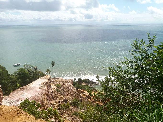 Vista do alto do Morro de São Paulo - Bahia