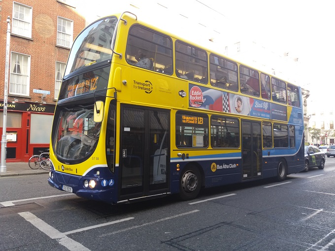 Como andar de ônibus em Dublin