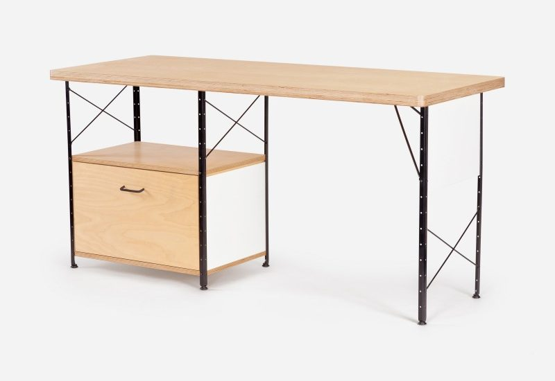 Modernica Case Study Storage Desk With Drawer Quasi