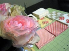 Pretty roses I bought our little derby party + pretty girly flannels :)