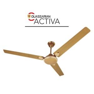 Quassarian Activa Golden Ceiling Fan