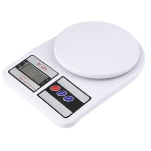 QUASSARIAN Portable Electronic Digital Weighing kitchen Scale Weight Machine with 1 YEAR WARRANTY