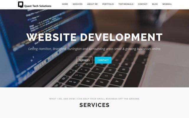Quast website feature image