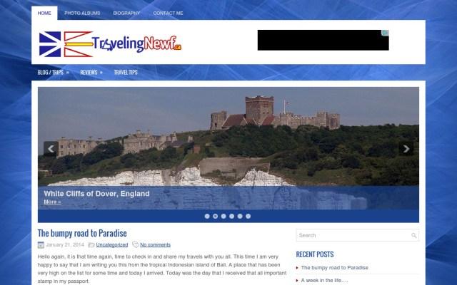 Traveling Newf website