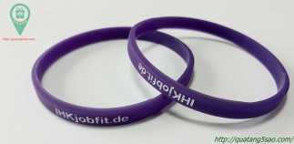 Vòng tay cao su dành cho website JHKjobfit.de