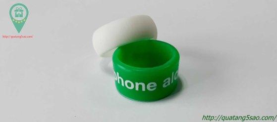Nhẫn cao su cho tín đồ điện thoại smartphone