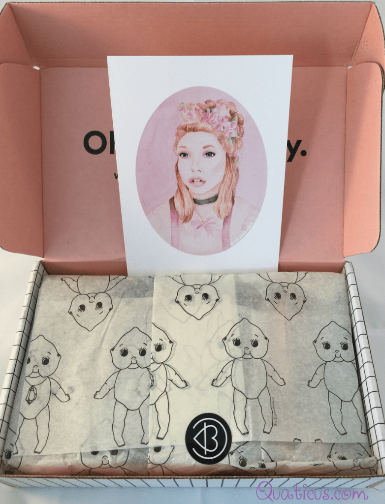 @chrixstopher artwork Beautycon Spring Essentials Beauty Subscription Box