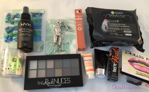 Beautycon Spring 2016 Essentials Beauty Subscription Box by Bunny Grav3yardgirl