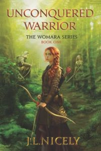 Unconquered Warrior a Novel Book Cover