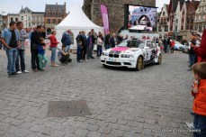 Départ 1e boucle rallye Le Béthunois 2015 (14)