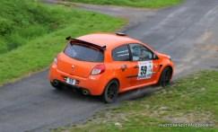 Rallye Le Béthunois - ES8 Le Turbeauté (67)
