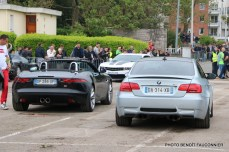 Rassemblement Neckbreakers Béthune - Jaguar F-Type & BMW M3