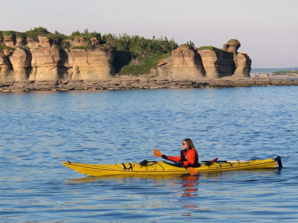 Kayak de mer Archipel de Mingan