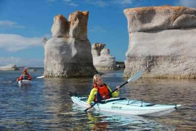 Kayak de mer Archipel Mingan 1