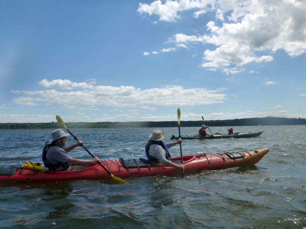 Kayak de mer Découverte Ile d'Orléans