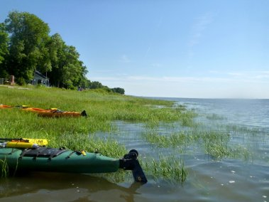 Kayak de mer Découverte Ile d'Orléans 02