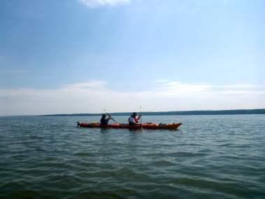 Kayak de mer Découverte Ile d'Orléans 06