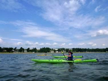 Kayak de mer Découverte Ile d'Orléans 08