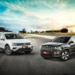 Comparativo Vw Tiguan 1 4 Tsi Enfrenta O Lider Jeep Compass Flex Quatro Rodas