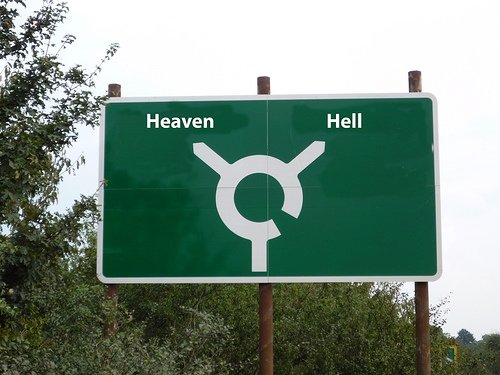 heaven_hell_roadsign