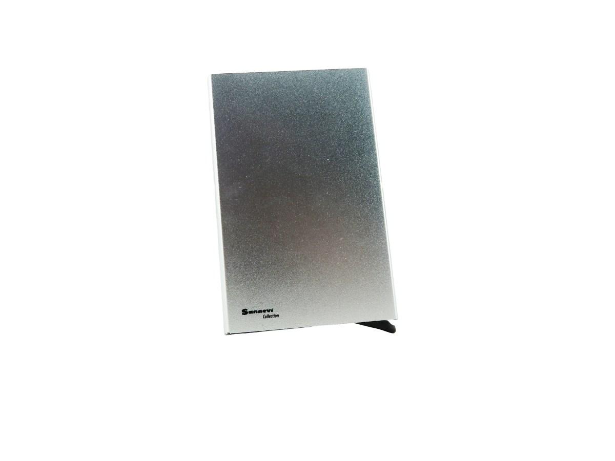 Korthållare cardsafe silver