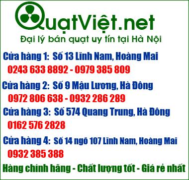 Quạt Việt bán quạt điện online giá rẻ