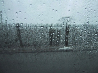 image of a rainy day