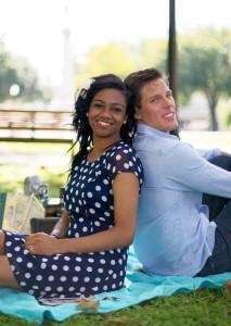 Tiana and Ben Engagement Photo