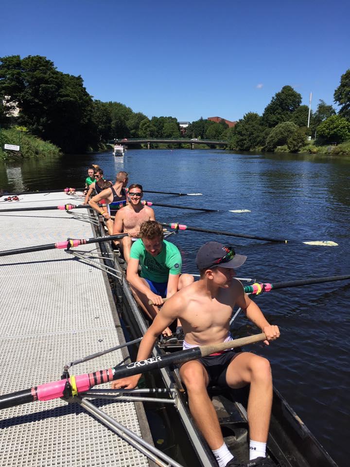 Queen's Rowing Costie's Composite Championship 2017 Runner's UP