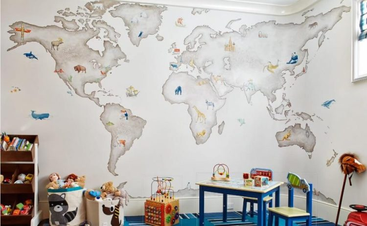 playroom design on a budget