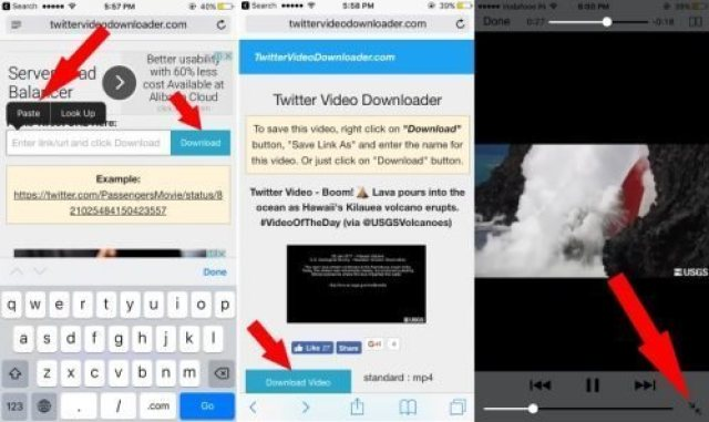 cara download video di twitter dengan android
