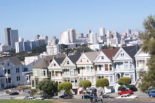 Casas Painted ladies San Francisco