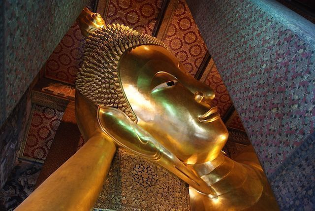 Bangkok Buda tumbado