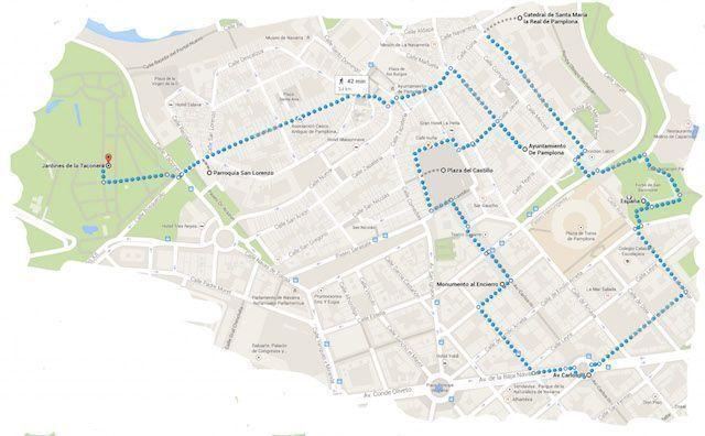 Ruta Que hacer en Pamplona