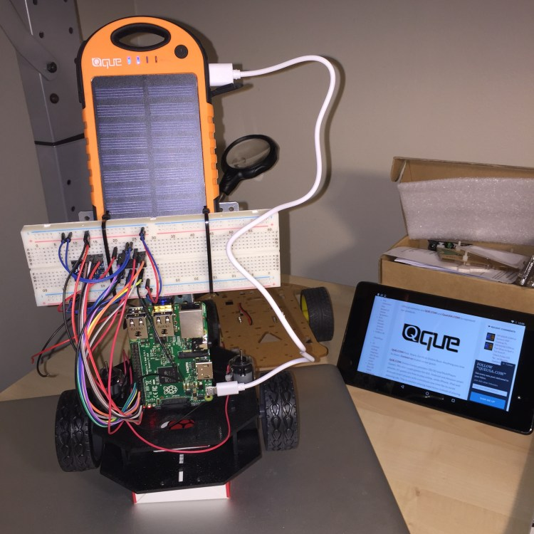 QueUSA.com - Raspberry Pi2 with QUE Solar Charger