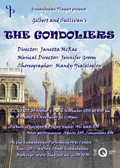 2010 The Gondoliers