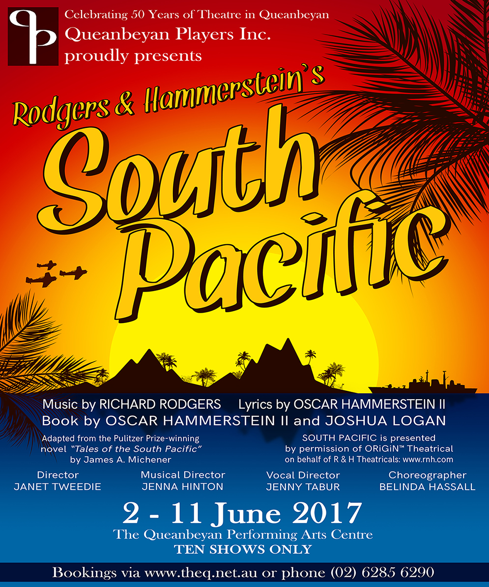 2017 South Pacific Poster