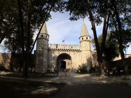 Gate of Salutations, Third Gate, Topkapi Palace, Istanbul