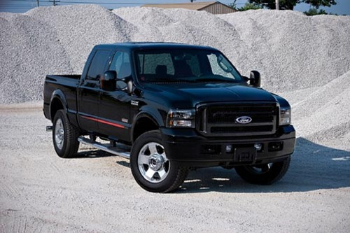 F250SD Outlaw 3/4 shot
