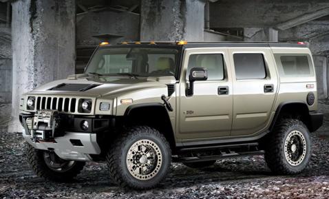 Hummer H2 Safari Off-Road concept