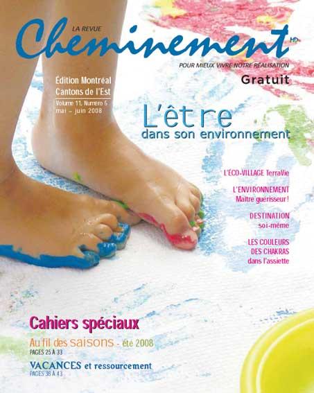 Couverture du magazine Cheminement