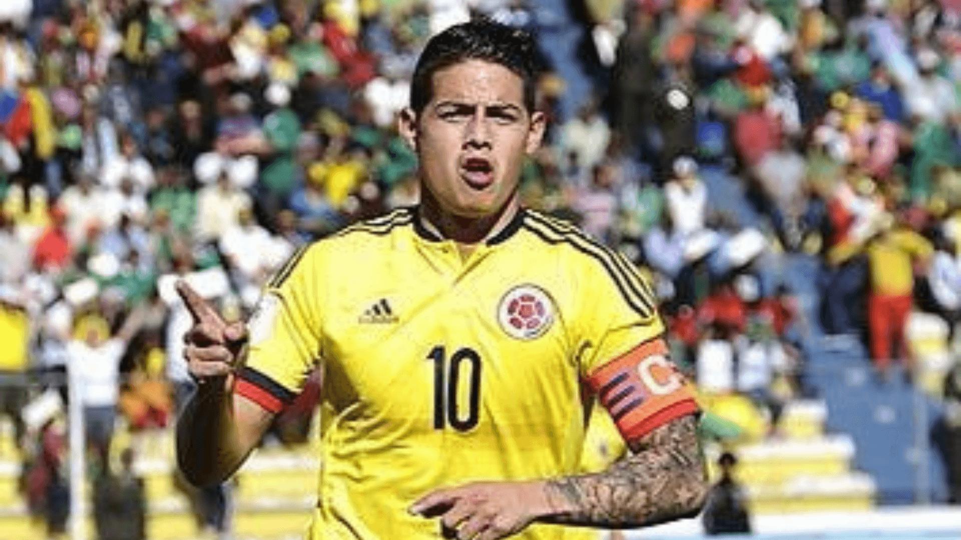 """A James Rodríguez lo """"sacaron del llavero"""", Conmebol no lo incluyó en homenaje a Colombia"""