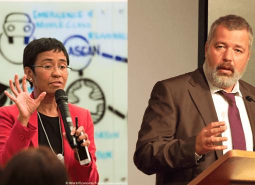 ¡Triunfó la libertad de expresión! Por primera vez, dos periodistas ganan el Premio Nobel de Paz