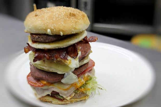 hamburguesa roque nublo