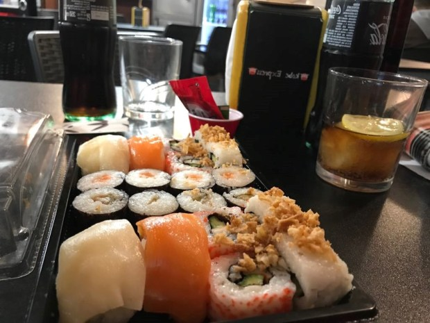 Mix de sushi