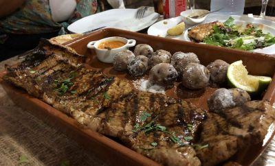 Bichillo de cerdo comida canaria