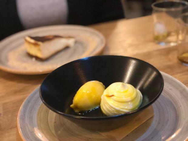 Postres de queso de la patineta