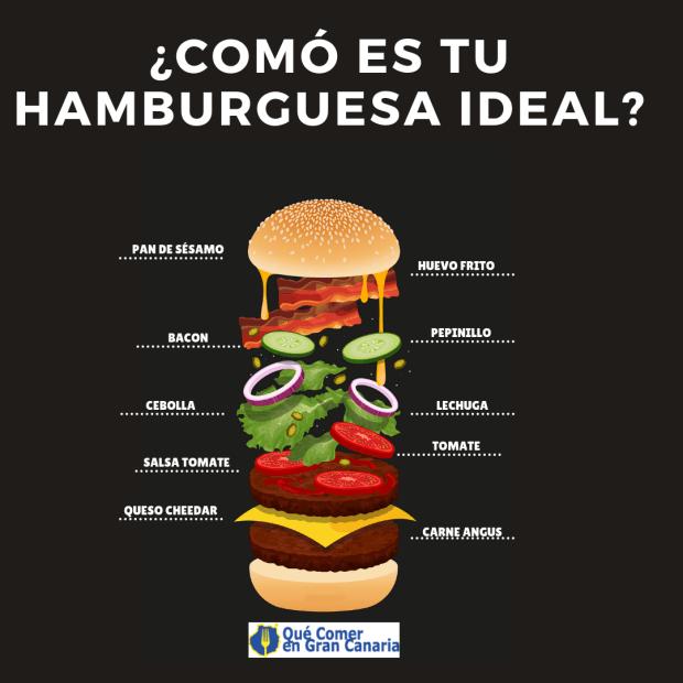 hamburguesas en Gran canaria