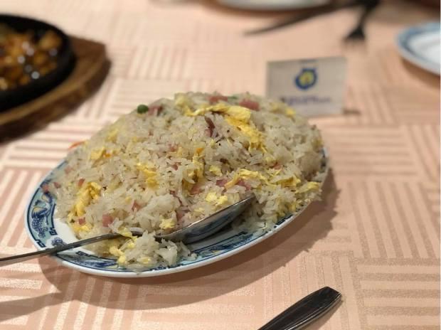 Arroz tres delicias restaurante taiwán